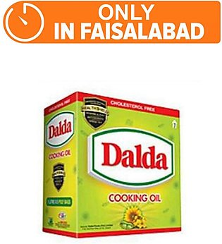 Dalda Cooking Oil (Pack of 5)(One day delivery in Faisalabad)