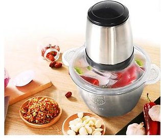 ITOP New Electric Stainless Steel Meat Grinder Meat Chopper Mincer Kitchen food…