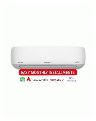 Kenwood Kenwood eGlow Split Air Conditioner 1 Ton - KDC-1224S - White