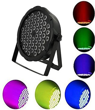 Led Slim Party Lights - 54 Led'S Bulb - 7 Color Including Rgb - Stage Light - S…
