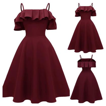 The Fashion Women's Suspender Big Sway Evening Party Dresses