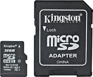 Kingston 32Gb Micro Sd Card For Mobiles