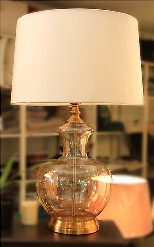 Dimple Glass Lamp
