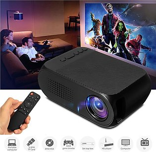 【Free Shipping + Flash Deal】Mini Portable Home Cinema LED 3D Projector Multim...