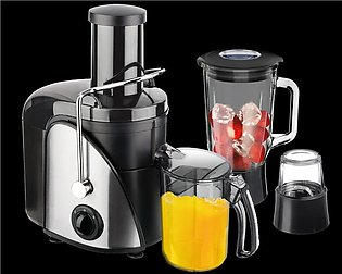 PROFESSIONAL Pack of 3- Juicer, Blender & Grinder