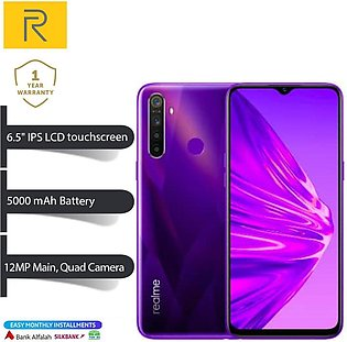 Realme 5 - 6.5   FHD Display - 3GB RAM - 64GB ROM - Fingerprint Sensor