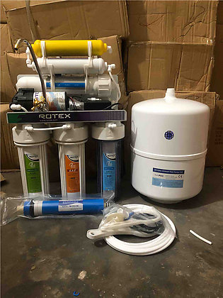 6 stage rotex ro plant with alkaline stage