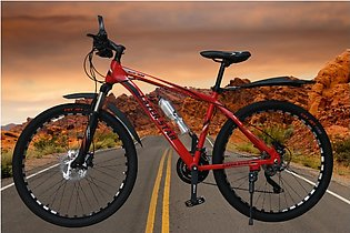 12 geared carbon body bicycle - 26 inch racing edition cycle - hydraulic brakes…