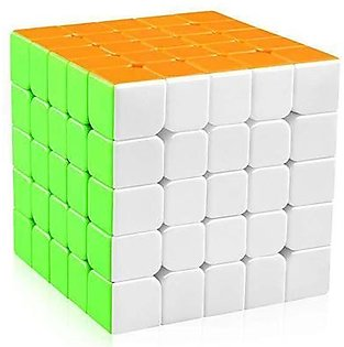 Pack of 1 - 5x5 Magic Cube Rubiks Cube Puzzles Toys