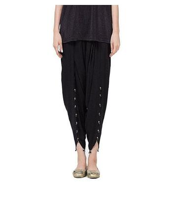 Viscose Tulip Shalwar For Women - Black