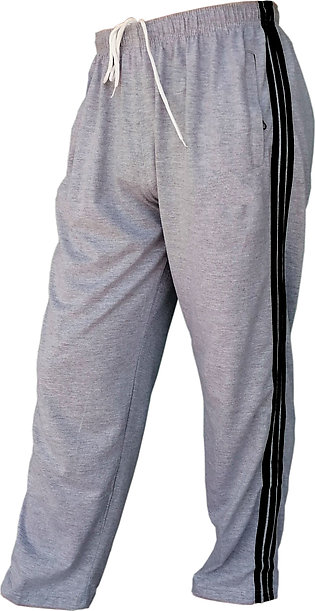 Pack of 1 Men Night Wear Pajamas Cotton Pant With Side Strips and Pockets