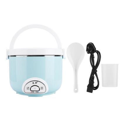 2L Mini Electric Rice Cooker Kitchen Stainless Steel
