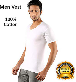 Pack of 1 Stretchable Shape Wear Vest for Men With Half Sleeves
