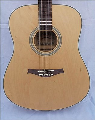 Acoustic Guitar Jumbo 41 Inches - Calao without White Ring