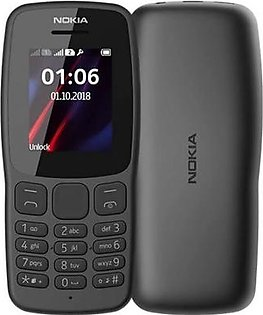 Nokia 106 dark grey 2000 contact (advance Telecom)