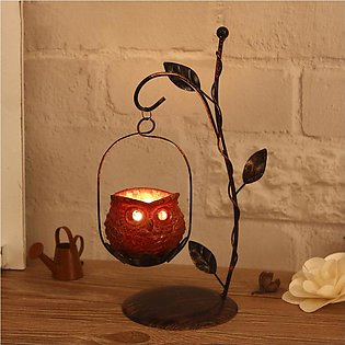 Iron Candlestick Candle Holder Candle Stand Light Lantern Holder Home Decoration
