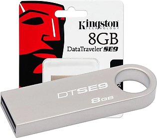 Kingston 8GB USB Flash Drive 3.0 Data Traveler SE9 G2 (Metal) 3 Month Warranty