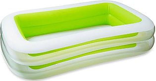 IntexSwim Center Family Inflatable Pool (103 X 69 X 22 inches) - 56483