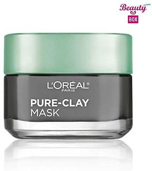 Loreal Pure - Clay Detox & Brighten Face Mask