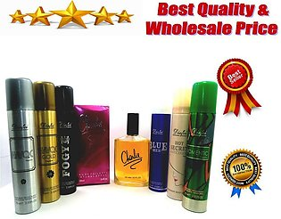 Charlie Perfume For Men and Women With Body Spray - 100 ml - 75ml