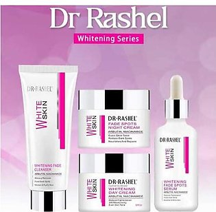 Dr Rashel Whitening Series Pack Of 4 With free surprise Gift Bestest Result A...