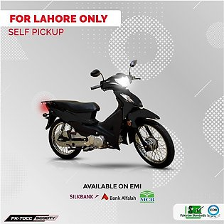 Power Scooty 70cc Black (Lahore Only) 12-15 working days