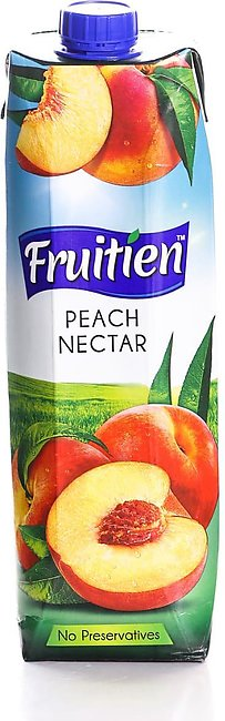 FRUITIEN PEACH NECTAR JUICE – 1LTR