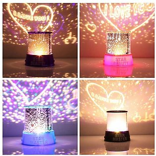 LED Cosmos Star Master Sky Starry Romantic Night Projector Light Lamp Gift New