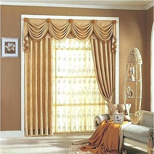 Fancy Cotton Satin Curtain For Home/Office 12