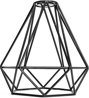 Lampshade Modern Lamp Cover Loft Industrial Edison Metal Wire Frame Ceiling Pen…
