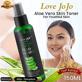 Love Jojo 92% Aloe Vera Skin Toner For Youthful Skin 150ML