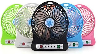 portable mini fan battery operated rechargeable fan