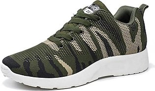 Camouflage Canvas Shoes For Men