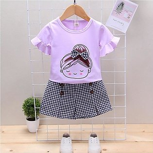 6 months to 4 years beautiful attractive summer new arrivals light purple DOLL …
