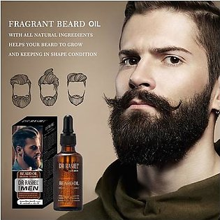 Dr Rashel- Beard Oil is a carefully hand-mixed blend of All Natural oils mixed specially with some unique Arabian scents (100% natural) gives your beard refreshing & soothing smell with heavier Arab look.(Keeping other quality ingredients the same)