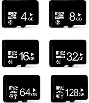 MIcro SD Memory Card (with one month warranty) 32GB, 16GB, 8GB, 4GB, 2GB for ca…