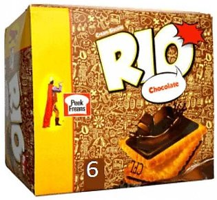 Pack Of 6 Rio Chocolate Biscuits