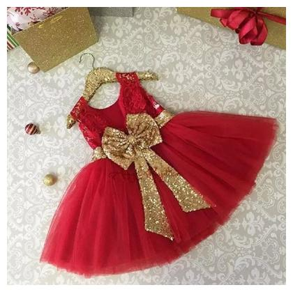 Fancy Branded Net and Silk Frock For Girls (Size 0 to 2xl)