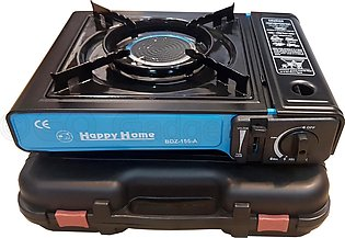 Portable Outdoor Camping Picnic Gas Stove Mini Burner Windproof BBQ Cooker