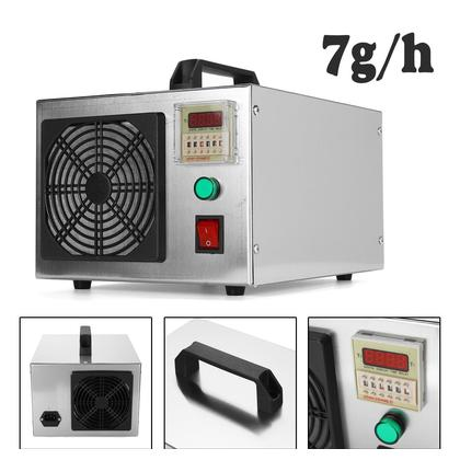 【Best Discounts】7g/h O-zone Generator Machine Food Industrial Air Purifier S-moke odor Air Cleaner