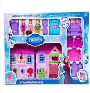 Frozen Doll House - Happy House - Pink