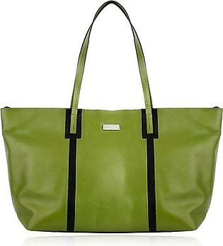 Ladies Tote Bag in Green Color