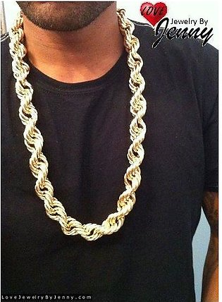 Discounted shop High Quality 14K GOLD PLATED ROPE CHAIN NEW ARRIVAL