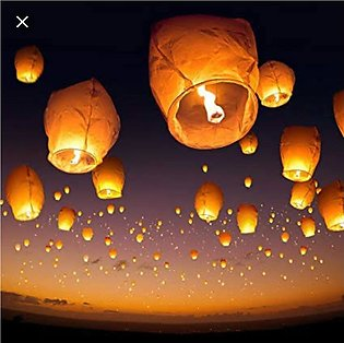 Sky Fire Balloons Pack of 15