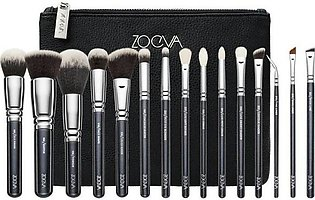 Pack Of 15 | Complete Makeup Brushes Set | ZOEVA | Professional Brush Set | W...