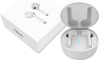TW40 Wireless Earphone With Charging Station 5.0 Stereo Earphone