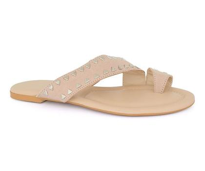 Hush Puppies - SS-SL-0062 - Beige Open Slipper for Women
