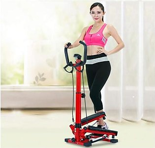 Imported Portable Fitness Equipment Steppers Exercise Machines Adjustable Arm...