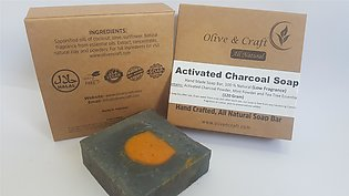 Charcoal Soap (Treatment For Acne, Pimples And Oily Skin)