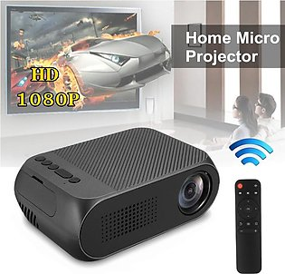 YG320 HD 1080P Portable Mini LED Video Projector Home Cinema Theater TV USB H...